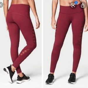 VSX Knockout Lace Up Tights Leggings